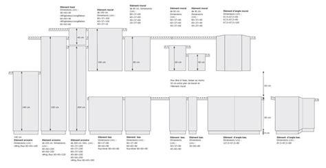 dimensions cuisine dimensions meubles cuisine coin de la maison