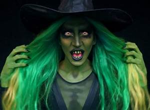 Gruselige Hexe Schminken : halloween schminke hexen make up mit grusel effekt halloween pinterest halloween ~ Frokenaadalensverden.com Haus und Dekorationen