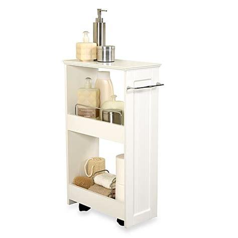 slim  organizer storage unit bed bath