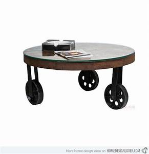 coffee tables design stupendous 10 round coffee table With metal coffee table with wheels