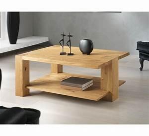 Table Basse 3 Pieds : table basse 3 pieds ch ne massif bibido15 ~ Teatrodelosmanantiales.com Idées de Décoration