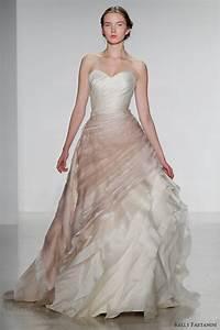 kelly faetanini fall 2014 wedding dresses wedding inspirasi With fall color wedding dresses