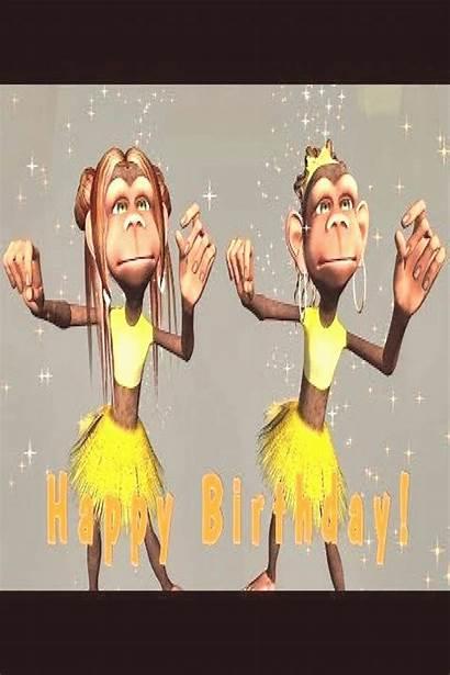 Birthday Happy Funny Song Monkeys Sing Singing