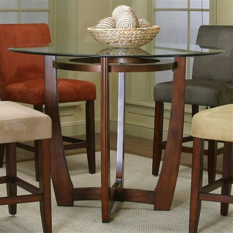 wood counter height dining table counter height dining table with cherry wood base by