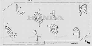 Honda Tiller Parts Frc800 Ac Vin  Fahj