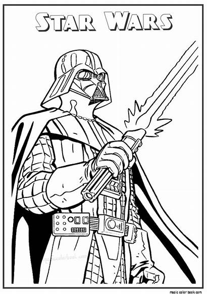Wars Coloring Star Pages Printable Lego Valentine