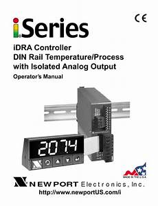 Idra Controller Din Rail Temperature  Process With Isolated