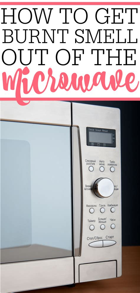 how to get smell out of attending how to get burnt smell out of microwave can be a