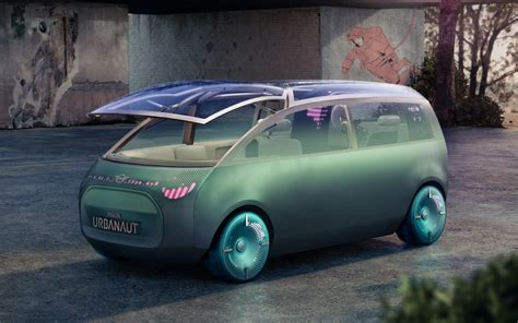 MINI Vision Urbanaut previews an autonomous micro-minivan ...