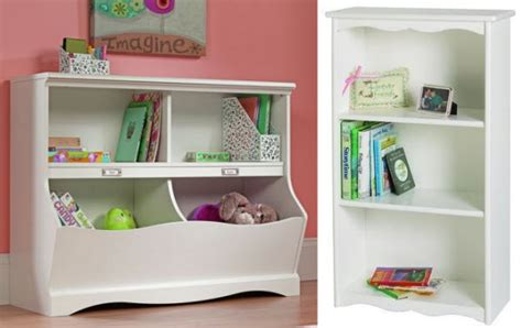 White Bookcase For Kids Room