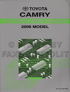 2005 Toyota Camry Wiring Diagram Manual Original
