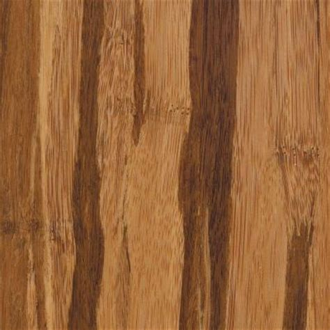 home legend bamboo flooring home legend strand woven tigerstripe 3 8 in t x 3 7 8 in