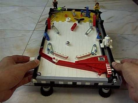 mini lego table lego pinball table mini nachapon100329 avi
