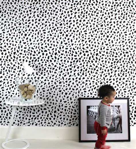 Black And White Animal Print Wallpaper - leopard print wallpaper by the loft and us