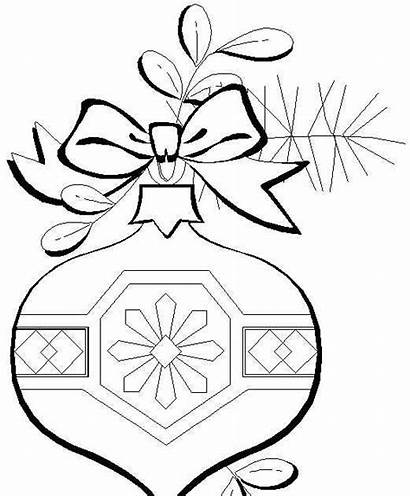 Coloring Ornaments Printable Ornament Colouring Adults Balls