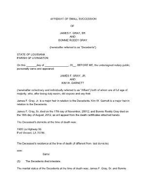louisiana voluntary termination  parental rights form