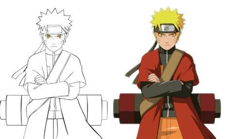 Gambar Sketsa Anime Hitam Putih 15 Contoh Sketsa Gambar Kartun Untuk Mewarnai
