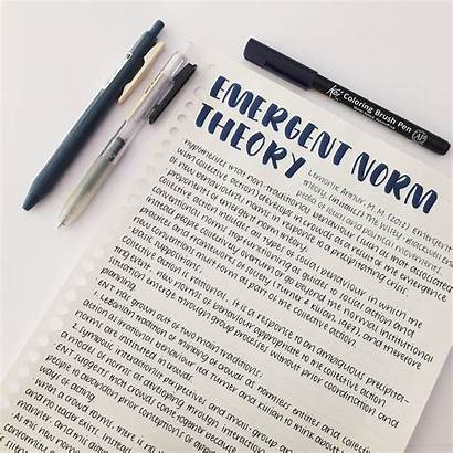Handwriting Notes Study Inspiration Note Apuntes College