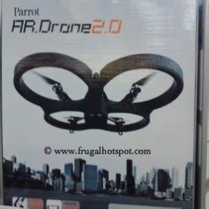 costco wi fi remote control parrot quadricopter ar drone   smartphone  tablet control