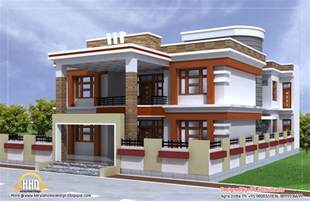 sq ft beautiful story house plan indian home decor