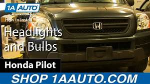 2006 Honda Pilot Headlight Assembly Diagram