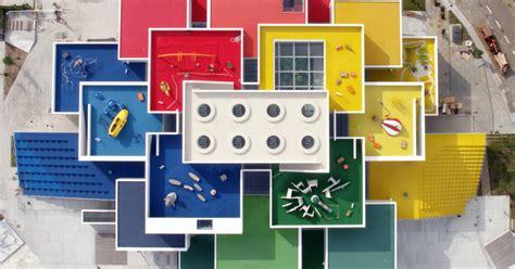 twenty  colorful cubes compose denmarks newly opened