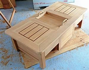 Plan De Table Palette : une table coffre moderne et astucieuse bois le bouvet ~ Dode.kayakingforconservation.com Idées de Décoration