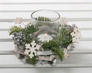 Deko Weihnachten Draußen : windlicht kranz wei holz glas tischgedeck deko ~ Michelbontemps.com Haus und Dekorationen
