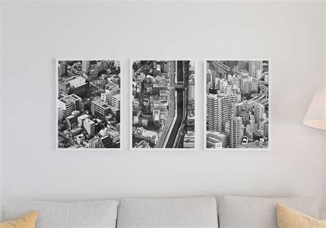 living room poster set mockups  photoshop brushes