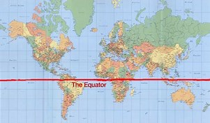 Image result for India map Equator