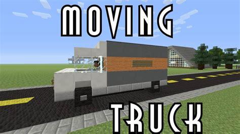 minecraft truck stop minecraft vehicle tutorial moving truck youtube