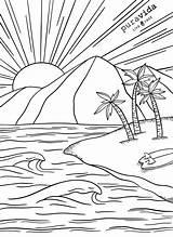 Coloring Sheets Pemandangan Printable Pv Gambar Pura Vida Mewarnai Drawings Boss Pantai Adult Anak Tk Untuk Alam Outlet Contoh Puravidabracelets sketch template