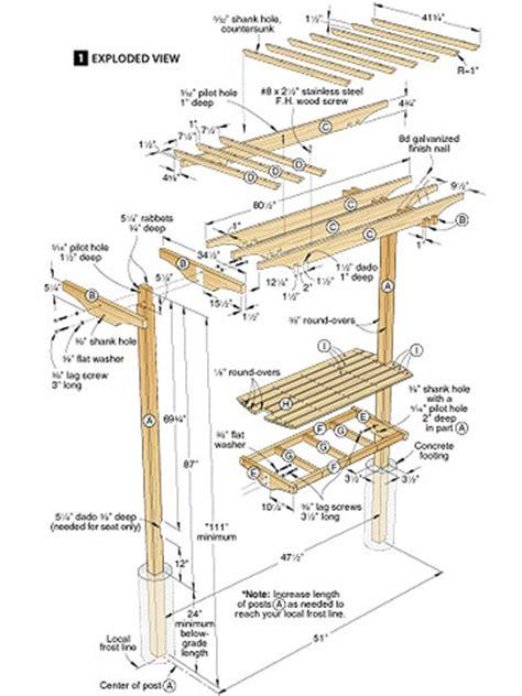 Trellis Bench Plans Plans Diy Free Download Wood Shelf Diy