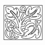 Square Coloring Pages Printable Adults sketch template