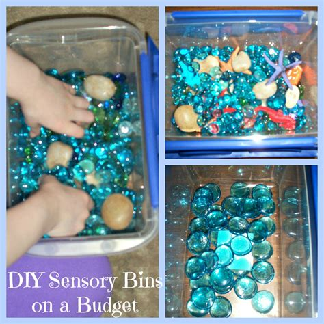 diy sensory bins  fun  learning heart  soul