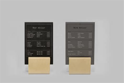 Restaurant Table Menu by Wooden Menu Holders For Restaurants And More Plungtools