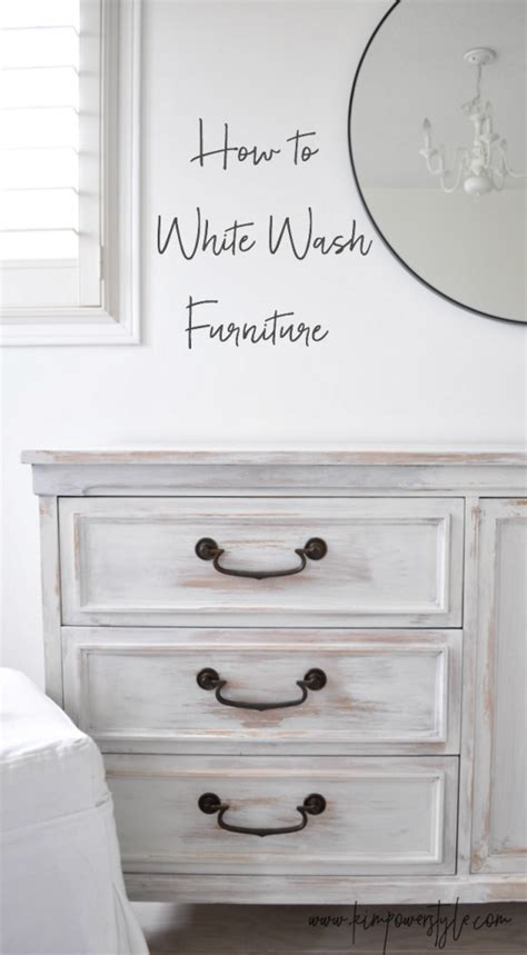guest room makeover white washing furniture kim