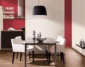 deco salle a manger tapisserie With decoration papier peint salle a manger