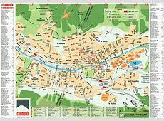 Maps of Chamonix ski resort in France SNO