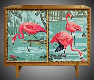 25 unique flamingo decor ideas on pinterest white With kitchen cabinets lowes with pink flamingo wall art