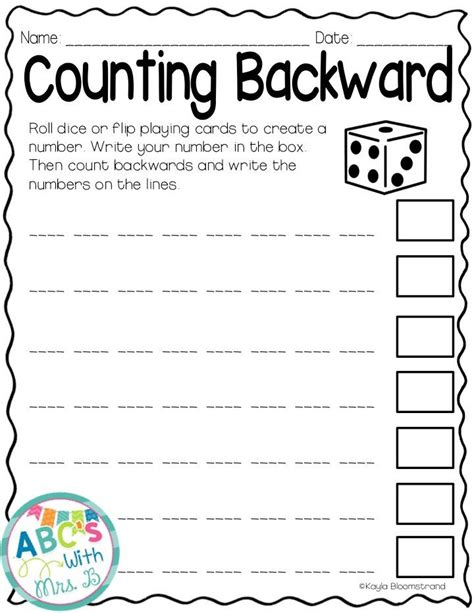 42 best 1st grade activities images on pinterest math activities counting backwards and math