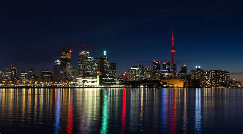 City, Landscape, Toronto Wallpapers Hd / Desktop And