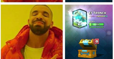 Clash Royale Memes - meme clash royale cuando amas al troco y lo demas te vale