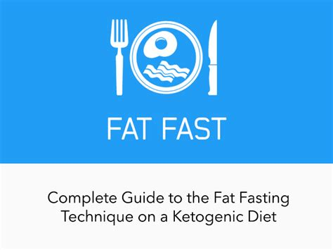 complete guide  fat fast  ketodiet blog