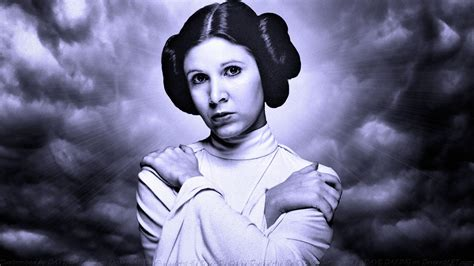 Carrie Fisher Princess Leia Xvi Ver 2 By Dave Daring On