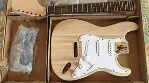 Fender Stratocaster Guitar Build