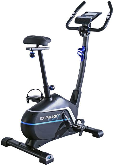 Roger Black Gold Magnetic Exercise Bike - FitnessGeek