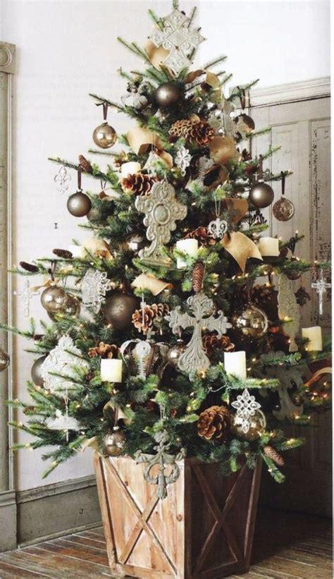 rustic christmas tree decorations top vintage christmas tree decorations christmas celebration