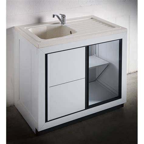 poubelle cuisine sous evier composite vendee 900 x 600 mm boutique pro carea sanitaire