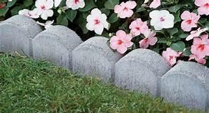 idee bordure jardin 50 propositions pour votre exterieur With tapis chambre bébé avec bacs à fleurs en béton